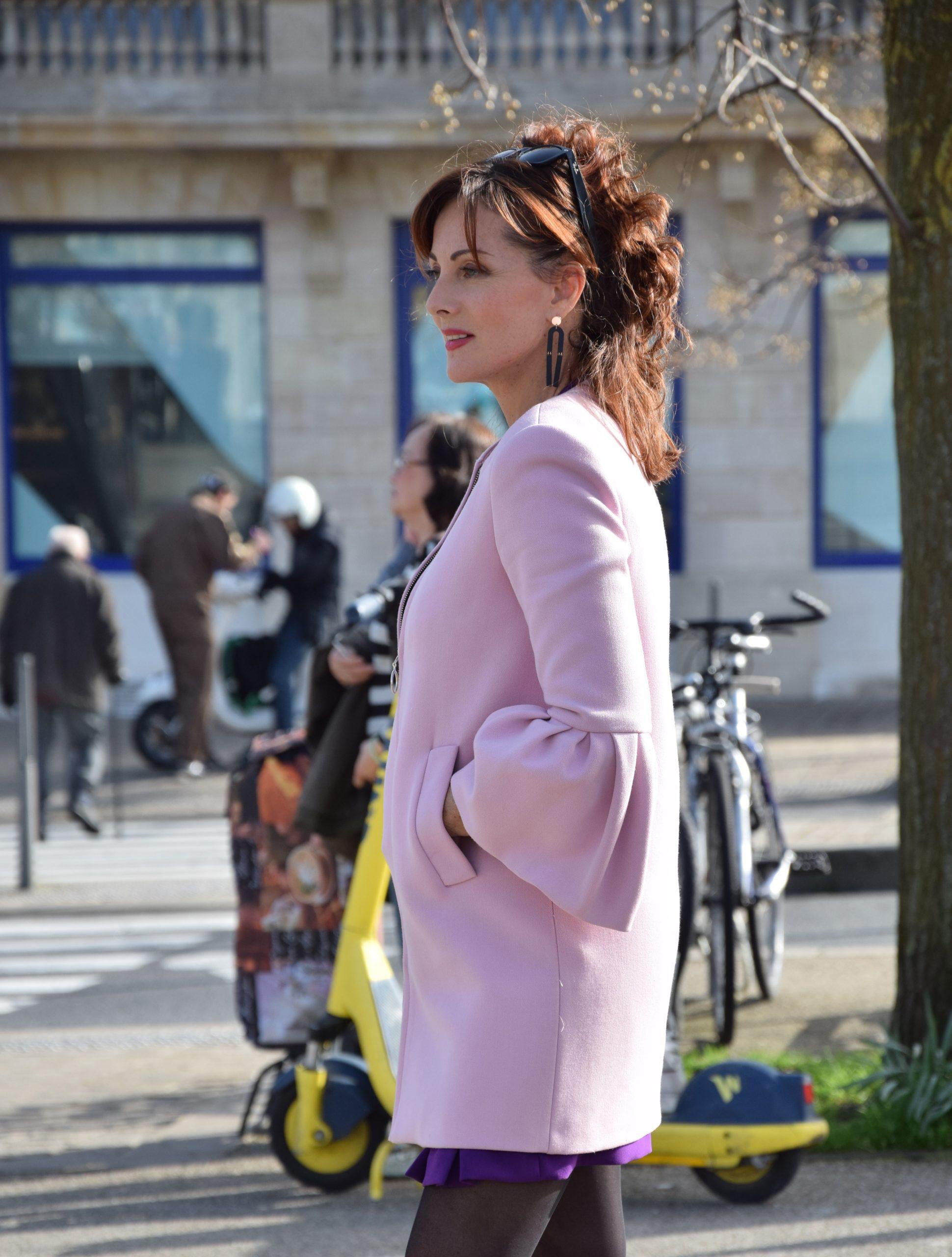 Nelly Berthele mode quinqua pink