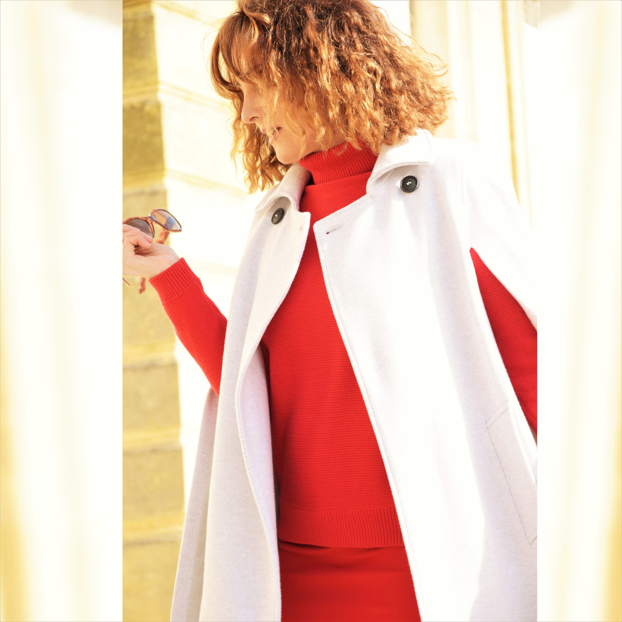 nelly berthele robe rouge