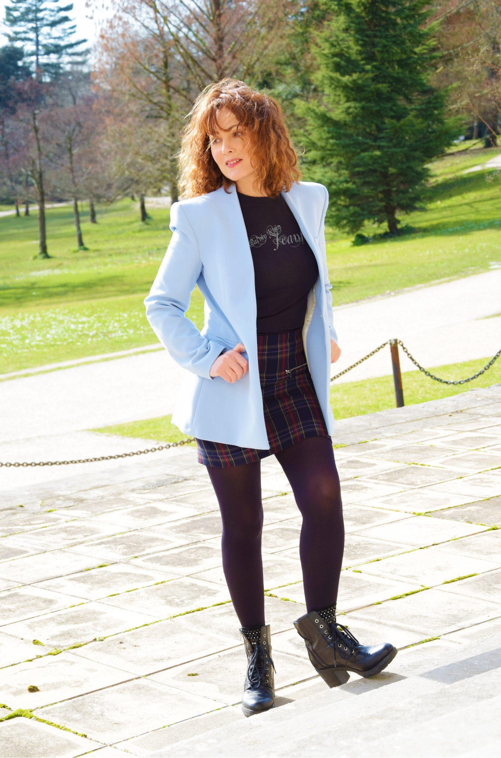 nelly berthele blazer bleu