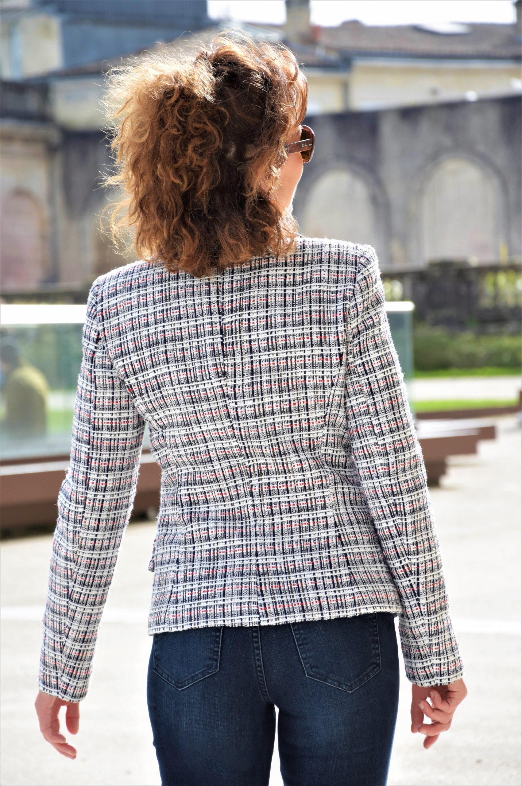 nelly berthele veste en tweed