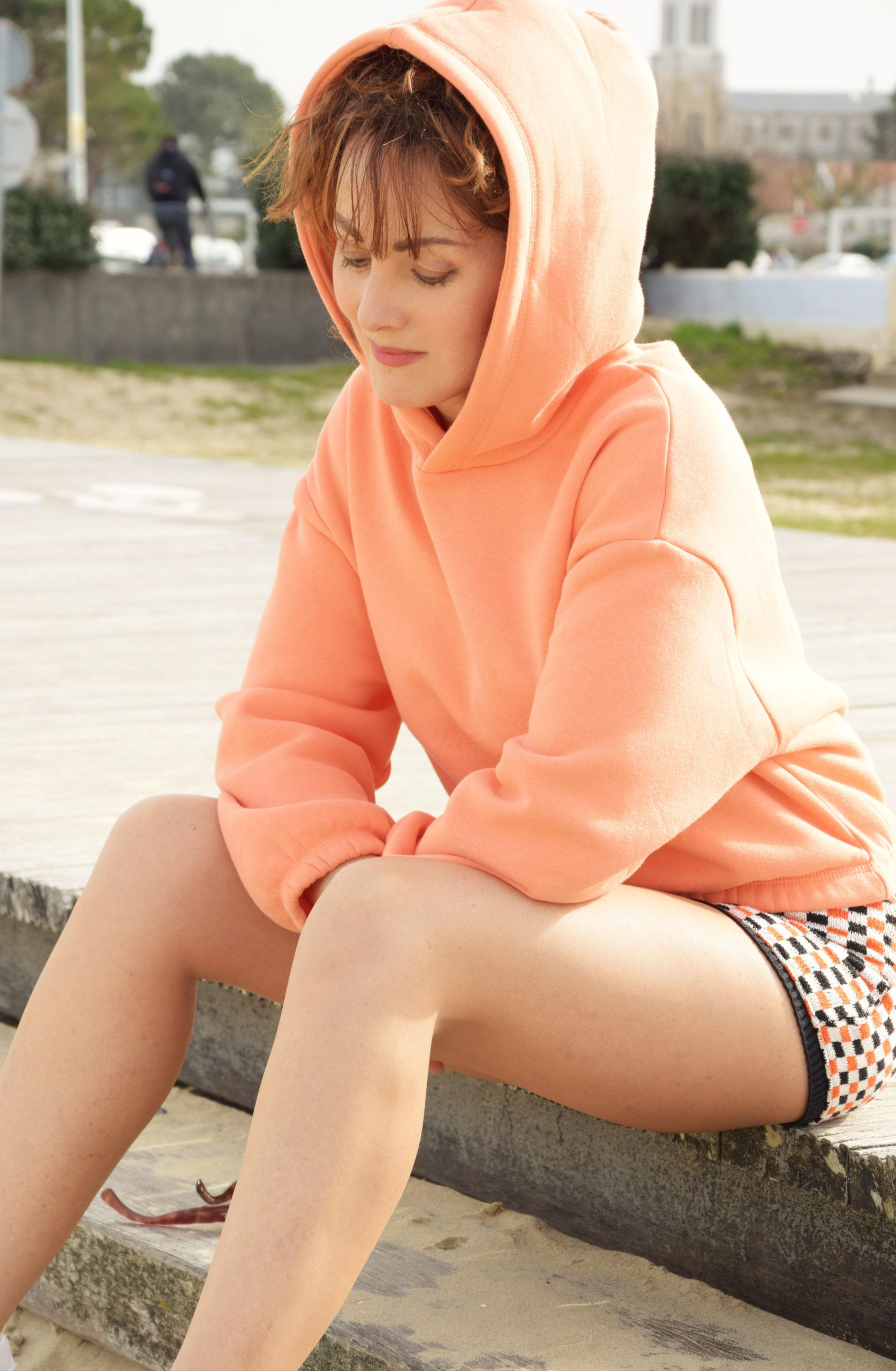nelly berthele short orange